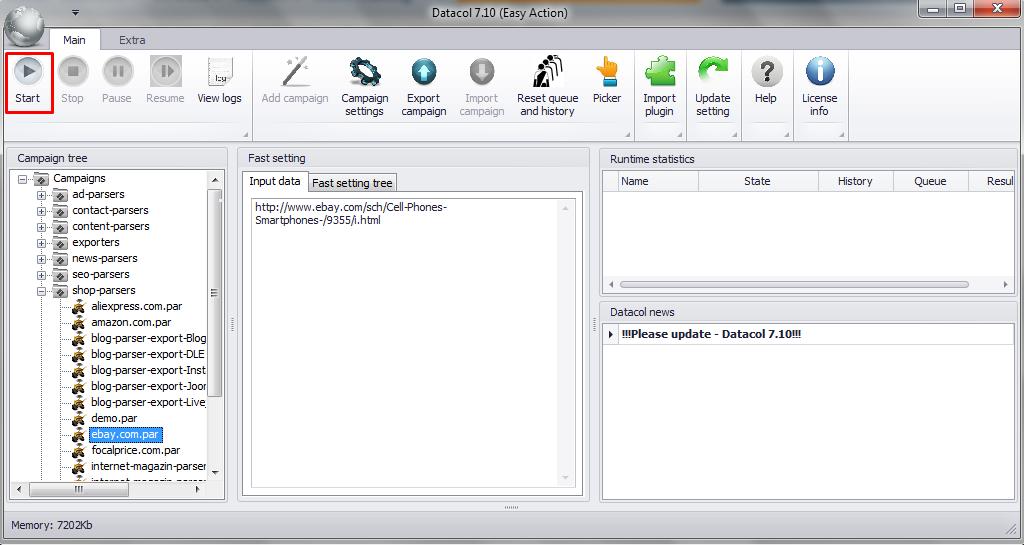 Ebay Scraper Free Download And Test Website Extractor